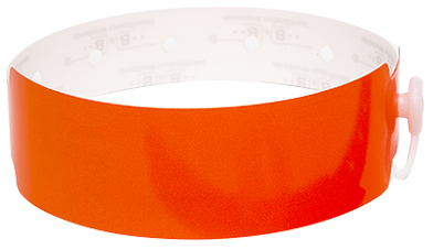 Thermal Wristbands (ORANGE)