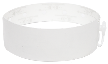 Thermal Wristbands (WHITE)