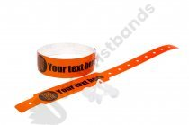 500 Thermal PRINTED wristbands (5 rolls) PRINTED BY UK WRISTBANDS