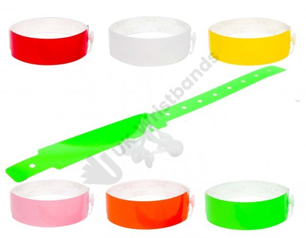 500 Thermal PLAIN wristbands (5 rolls) PRINT YOUR OWN W/BAND